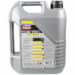 Oil Inspection Kit Filter Liqui Moly 6l 5w-40 For Audi Cabriolet 8g7 B4