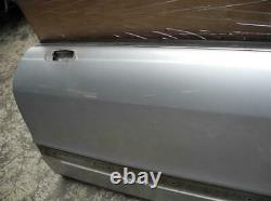 Orig. Audi 80 Typ89 Cabriolet Coupé Front Door Left Ly7w Silver Clear