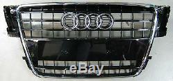 Original Audi A5 8t Coupe Cabriolet Sportback Front Grill Black Brilliant S-line