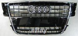 Original Audi A5 8t Coupe Cabriolet Sportback Front Grill Black Shiny S-line