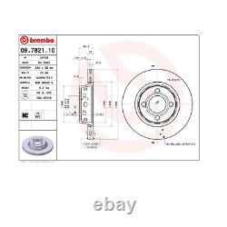 Pair Discs Frein Before Audi 80 Coupe' Brembo Convertible For 8a0615301a