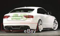 Rear Bumper Bumper Diffuser For Audi A5 Coupé Cabriolet 3d 07-16