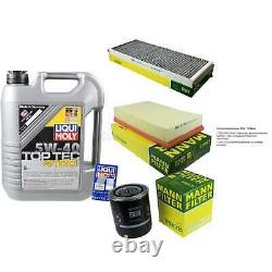 Review Filter Liqui Moly Oil 5l 5w-40 For Audi Cabriolet 8g7