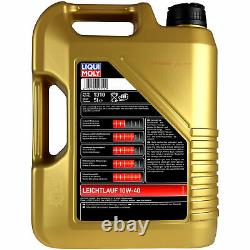 Revision Filter Liqui Moly Oil 5l 10w-40 For Audi Cabriolet 8g7 B4 2.3, E