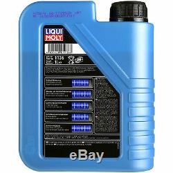 Revision On Oil Filters Liqui Moly 5w-6l 30 Audi Cabriolet 8g7 B4