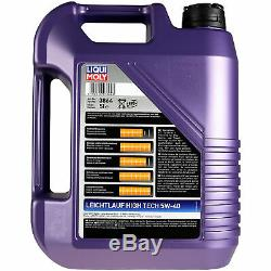 Revision On Oil Filters Liqui Moly 5w-6l 40 Audi Cabriolet 8g7 B4