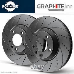 Rotinger Graphite Line Brake Discs Sport Avant Golf Cabriolet, Passat 32b