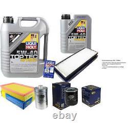 Sketch D'inspection Filter Oil Liqui Moly 6l 5w-40 For Audi Cabriolet 8g7 B4
