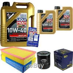 Sketch Inspection Filter Liqui Moly Oil 7l 10w-40 For Audi Cabriolet 8g7 B4