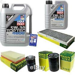 Sketch Inspection Filter Oil Additive Liqui Moly 6l 5w-30 For Audi Cabriolet