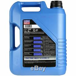 Sketch Of Inspection Filter Liqui Moly Oil 5w-30 5 L For Audi Cabriolet 8g7 B4