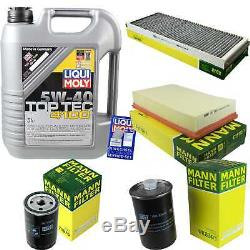 Sketch Of Inspection Filter Liqui Moly Oil 5w-40 5 L For Audi Cabriolet 8g7 B4