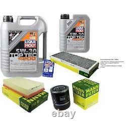 Sketch Of Inspection Huile Of Liqui Moly 6l 5w-30 For Audi Cabriolet 8g7