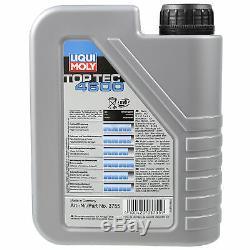 Sketch On Inspection Filter Liqui Moly Oil 5w-30 6l Audi Cabriolet 8g7