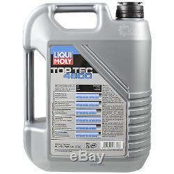 Sketch On Oil Filter Inspection 5l Liqui Moly 5w-30 Für Audi Cabriolet 8g7