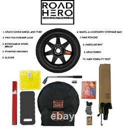 Space Saver Wheel - Tyre Kit For Audi A4 Convertible Before A6 Allroad Q2 Coupe Tt