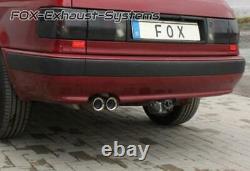 Sport Escape + Vbr Audi 80 89 B3 B4 Coupé Cabriolet 1.6-2l 2x Sharp With
