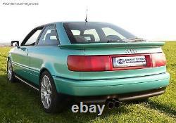 Sport + Vb-rohr Audi 80 89 B3 B4 Soda Coupé Cabriolet 2.3l 2x76mm Network