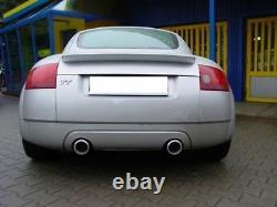 Ulter Inox Sport Escape Audi Tt 8n Cabriolet Coupé 1.8t 165kw Ré LI Each