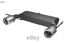 Ulter Sport Exhaust Audi Tt Type 8n Cabriolet Coupe Year Fab. 98-06 Quattro