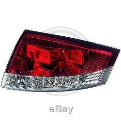1040295, Paire de feux arriere rouge pour AUDI TT Coupe, Cabriolet de type 8N