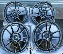 15 Gris X5 Roues Alliage pour Audi 90 100 80 Coupé Cabriolet Saab 900