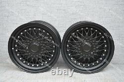 17 Noir Rs Alliage Roue Audi 90 100 80 Coupé Cabriolet Saab 900 9000 4x108