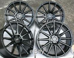 18 Noir 02 Wr Roues Alliage pour Audi A6 C7 A8 Q5 Q7 5X112 Coupé Tt Cabriolet
