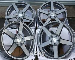 19 GM cc-Q Roues Alliage Pour Audi A6 C7 A8 Q3 Q5 Q7 5X112 Coupé Tt Cabriolet