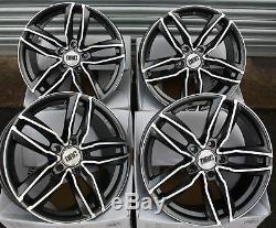 19 Gmf Daa Roues Alliage Pour Audi A6 C7 A8 Q3 Q5 Q7 5X112 Coupé Tt Cabriolet