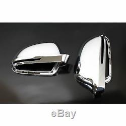 2 Coque Retroviseur Audi Q3 Type 8u A Partir De 6/2011 Chrome Droit + Gauche