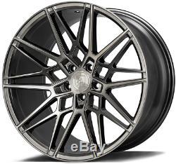 20 Gris CF1 Roues Alliage Pour Audi A6 C7 A8 Q3 Q5 Q7 5X112 Coupé Tt Cabriolet