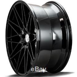 22 Noir ZX4 Roues Alliage Pour Audi A6 C7 A8 Q3 Q5 Q7 5X112 Coupé Tt Cabriolet