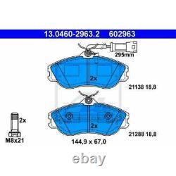 ATE Plaquette de Freins 13.0460-2963.2 Sabots de Frein Audi Cabriolet 8G7 B4