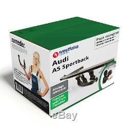 Attelage Audi A5 Sportback 2011-2017 Amovible + Faisceau spé. 7 broches NEUF KIT