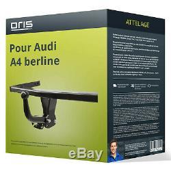 Attelage pour Audi A4 berline type 8E/B7 démontable avec outil Oris TOP