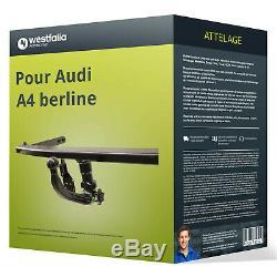 Attelage pour Audi A4 berline type 8E/B7 démontable sans outil Westfalia TOP