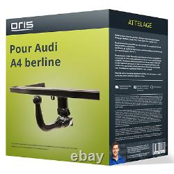 Attelage pour Audi A4 berline type 8K/B8 démontable sans outil Oris NEUF TOP AAA