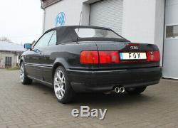 Audi 80/90 Type 89 B3/B4Limousine / Coupé Et Cabriolet Silencieux Sport De Fox