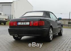Audi 80/90 Type 89, B3 Soude / Coupé / 80 B4 Cabriolet Silencieux 135x80mm De Fox