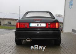 Audi 80/90 Type 89, B3 Soude / Coupé / 80 B4 Cabriolet Silencieux 135x80mm Von