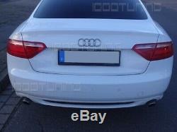 Audi A5 8T Coupé Cabriolet Vfl Diffuseur Arrière S-LOOK avec Grille