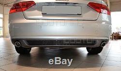 Audi A5 B8 8T Coupé Cabriolet Diffuseur avec Grille Arrière S-LINE de Lifting