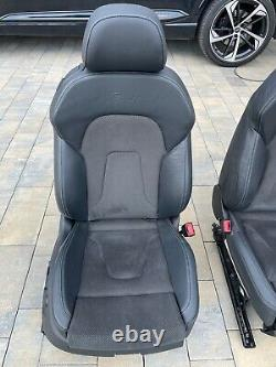 Audi A5 B8 8T0 S5 Rs Coupé Cabriolet S-LINE Alcantara Sièges en Cuir Sièges Cuir