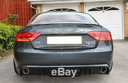 Audi A5 Coupe Cabrio (2007 2011) Jupe Arriere / Rajout De Pare Choc