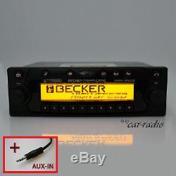 Becker Traffic Pro BE7820 High Speed Autoradio Navigation Radio-Cd Aux