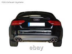 Duplex Échappement Sport Audi A4 B8 8K Quattro Et A5 S5 Quattro Coupé/Cabriolet