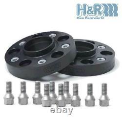 Élargisseurs 20mm H&R B4034571 pour Audi 100 200 80 90 Cabriolet Coupe