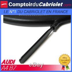 Filet anti-remous coupe-vent, windschott Audi A4 (B7) cabriolet TUV