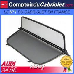 Filet anti-remous coupe-vent, windschott Audi A4 cabriolet (B6) TUV